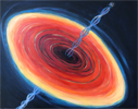 Accretion Disk with Hawking Emissions