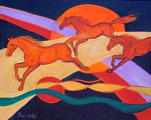 Horses of the Astral Plain